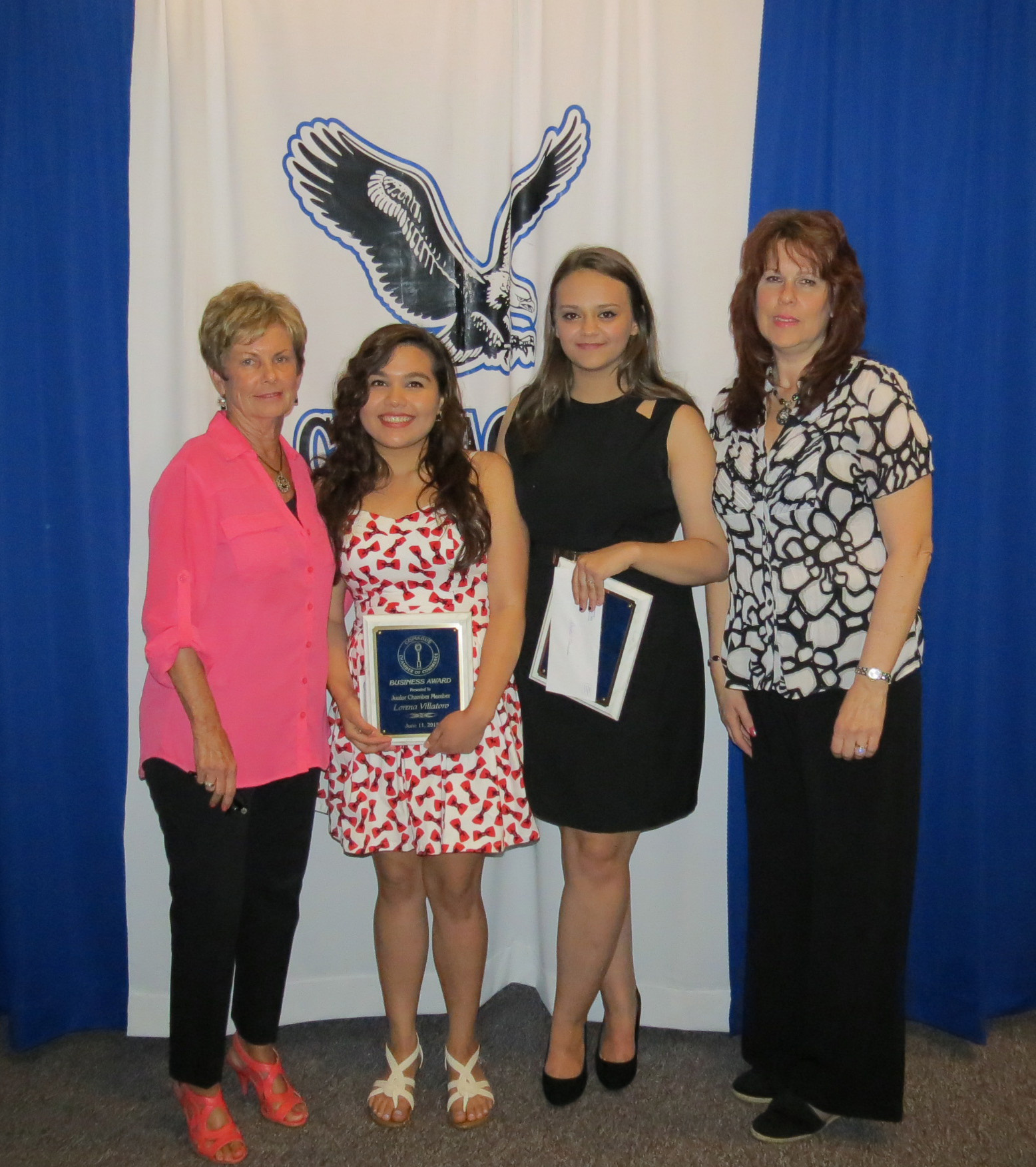 Jr. Chamber Scholarship Awards 2015