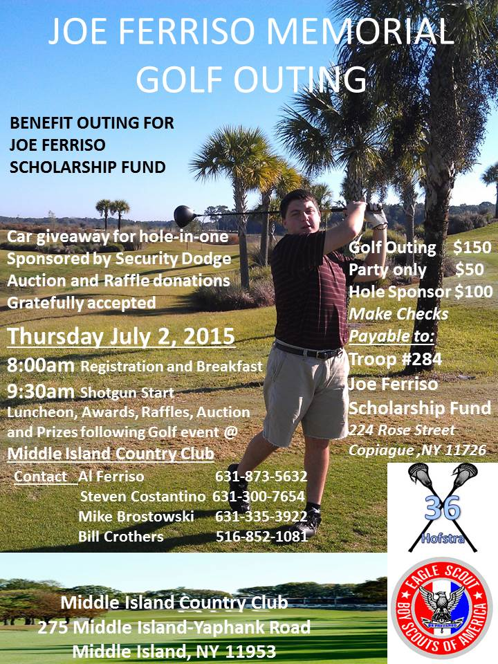 Joe Ferriso Golf Outing